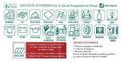 Déchets autorisés à la déchéterie de Feuquières-en-Vimeu dont consignes pour l'amiante