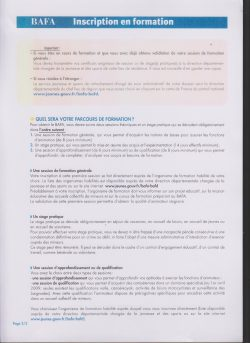 Info BAFA 2