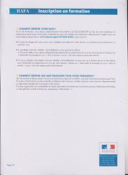 Info BAFA 3