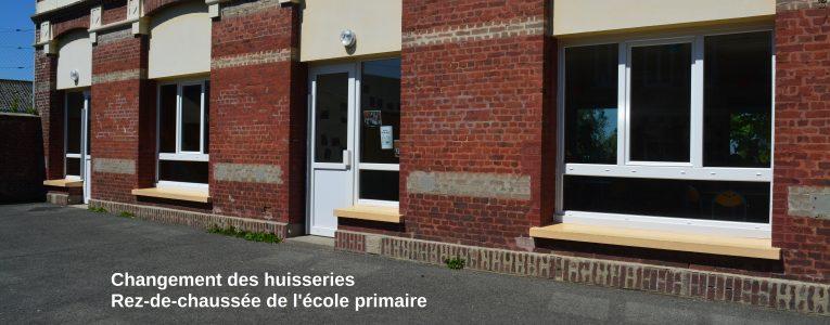Fenêtres Ecole