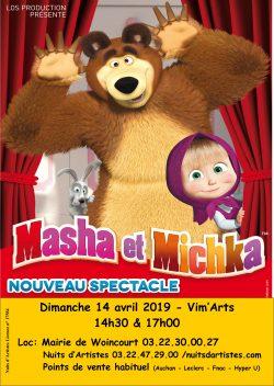 Affiche Masha & Michka