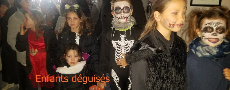 Goûter d'Halloween 2018