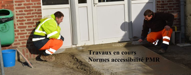 travaux continuent