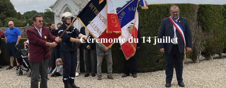 cérémonie du 14